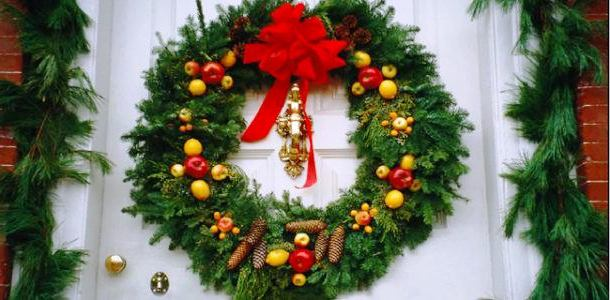 Новогоднее оформление квартиры Декор своими руками