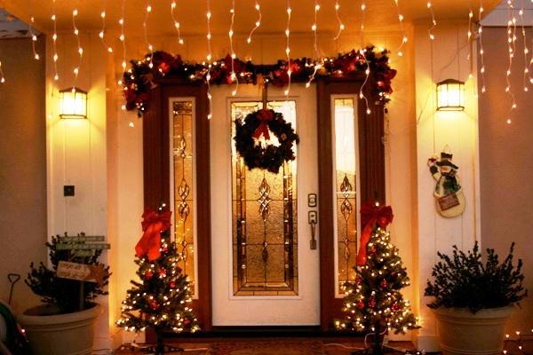 Идеи декора для оформления квартиры на Новый 2018 год