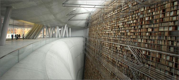 библиотека в Стокгольме