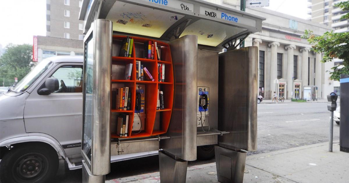 библиотеки-телефонные будки