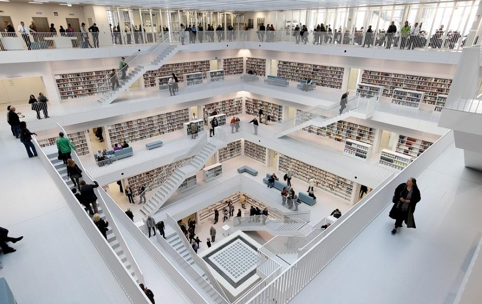 библиотека Штутгарта