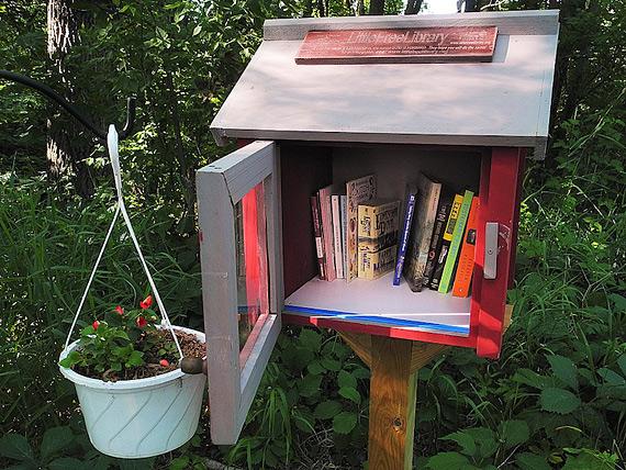 библиотека в почтовом ящике