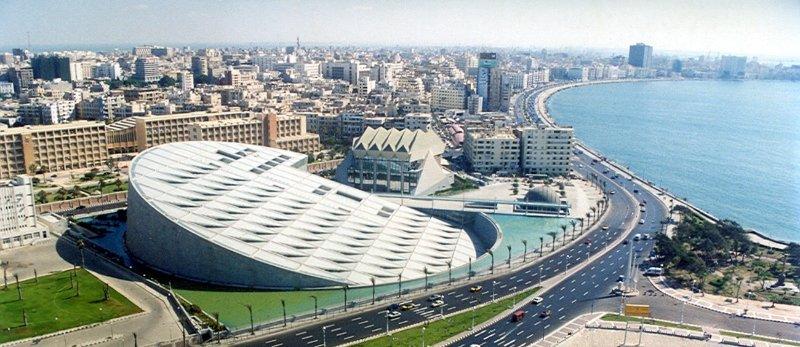 Александрийская библиотека в Египте